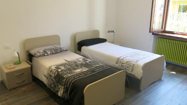 Posto letto in camera doppia in zona tranquilla e vicina alle facoltà del centro