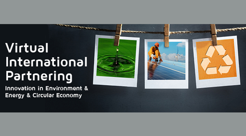 Virtual International Partnering - Innovation in Environment, Energy & Circular Economy - nu med webinarer!