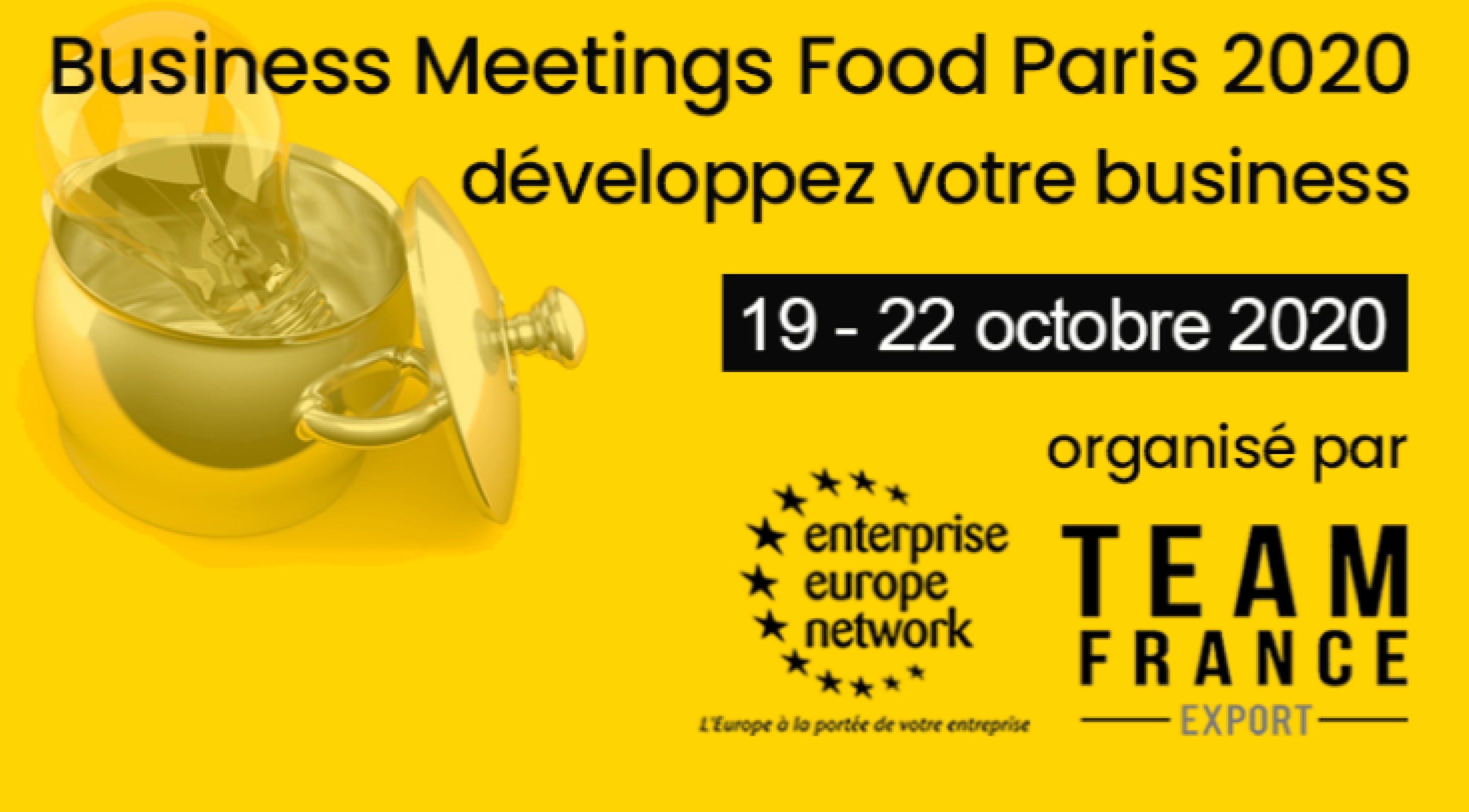 Business Meeting Food Paris 2020