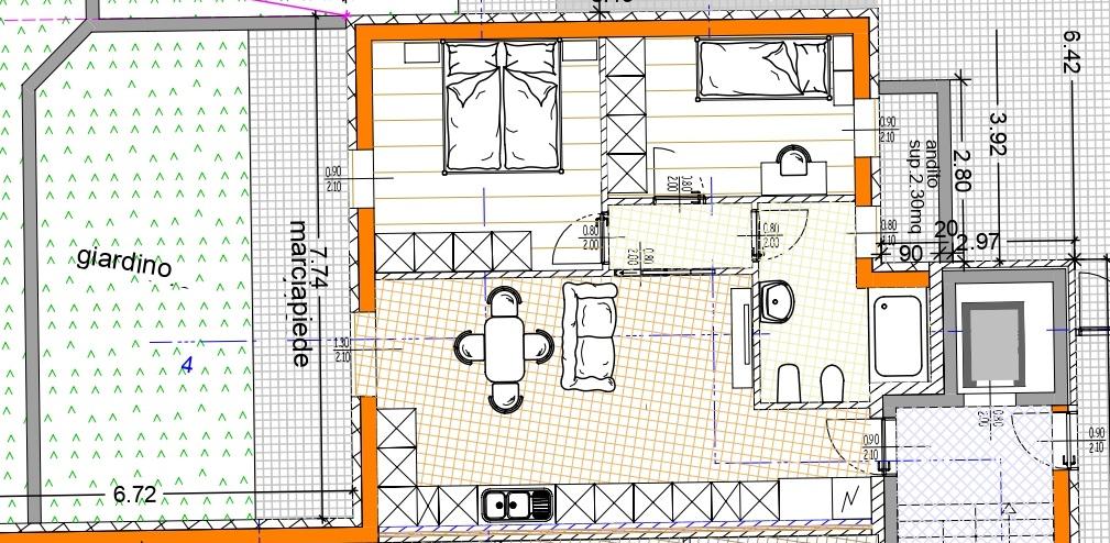 Appartamento in fase di costruzione a Pergine
