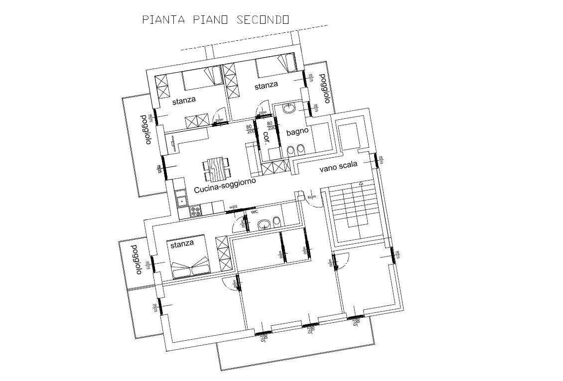 Nuova Residenza a Pergine: Ampio Tre Stanze